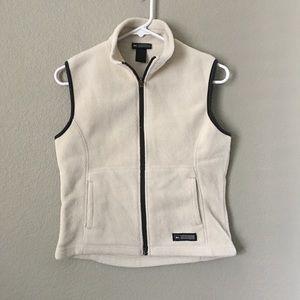 Rei White Black Outdoor Vest Small